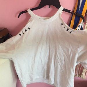 Victoria secret pink cold shoulder